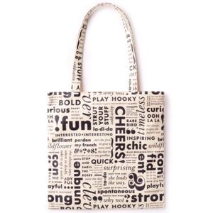 Kate Spade: What Do You Say Book Tote Lunch Bag